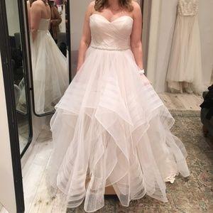 Size 14 BHLDN Garner Gown - Blush (Street Size 12)